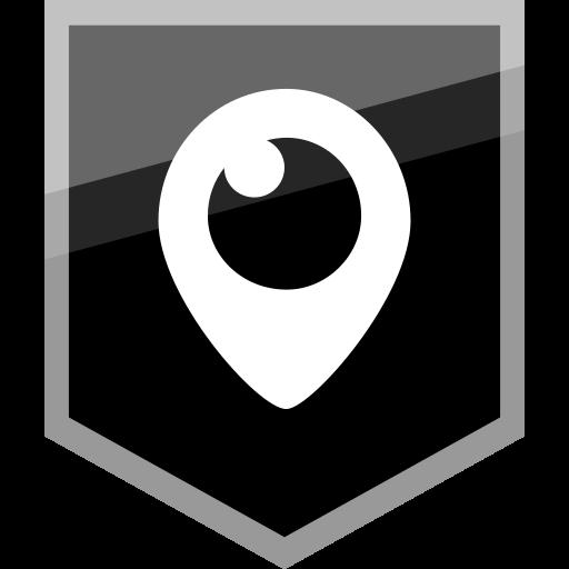 copy, logo, media, periscope, social icon