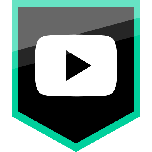 logo, media, social, video, youtube icon