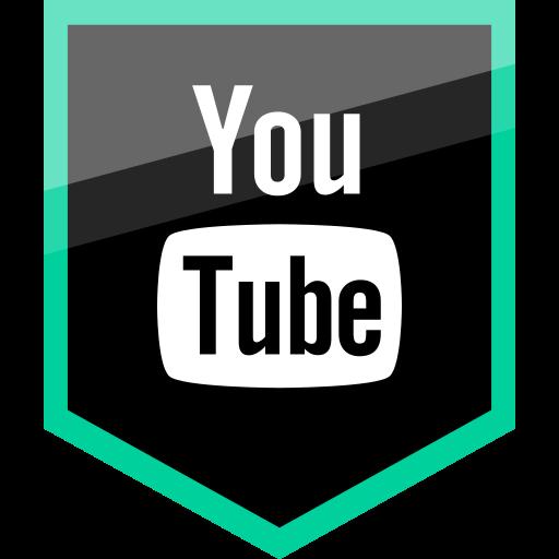 Logo, media, social, youtube icon - Free download