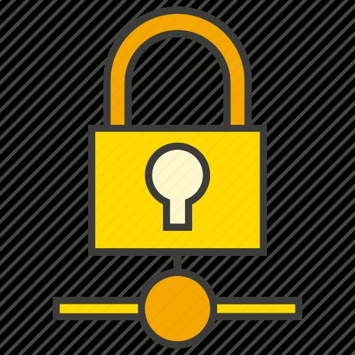 encryption, key, lock, protect, secure icon