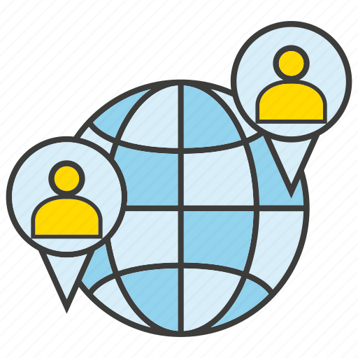 Communication, global, globe, people icon - Download on Iconfinder