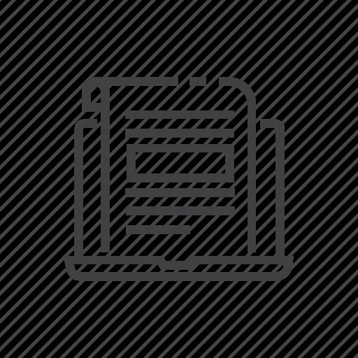 article, blog, communication, conversation icon