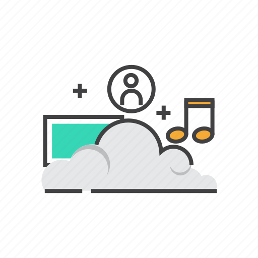 Cloud, computing, data, database, storage, upload icon - Download on Iconfinder