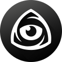 black white, eye, icon market, iconfinder, iconfinder icon, iconfinder logo, internet icon