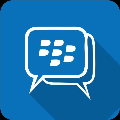 blackberry, mesenger icon