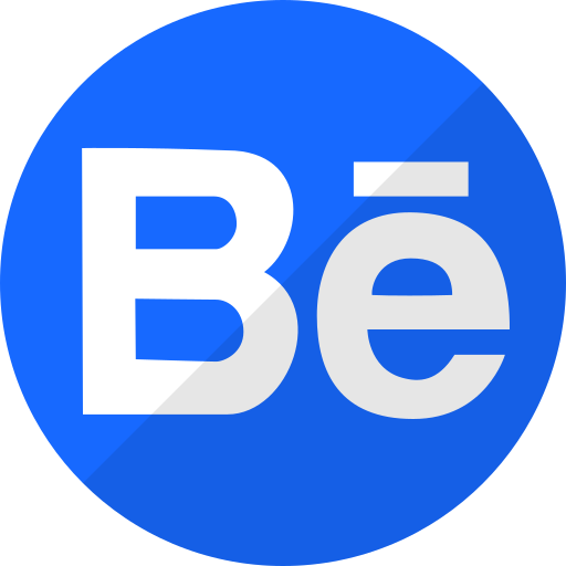 behance, media, music, player, social icon
