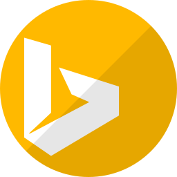 bing, communication, media, question, search, social icon