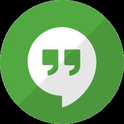 chat, communication, hangouts, message, talk icon