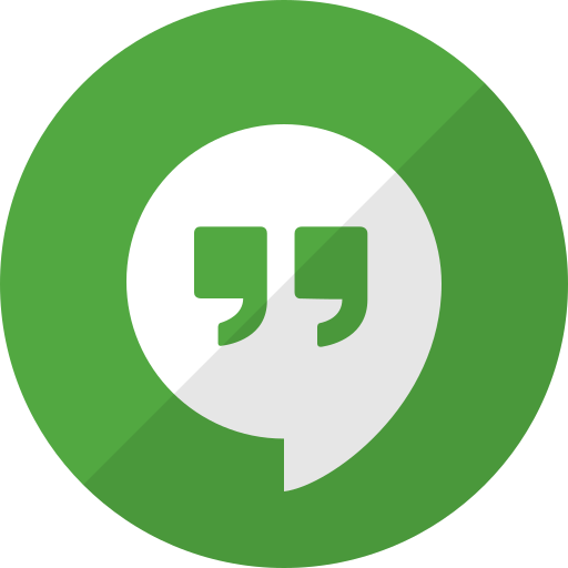 chat, communication, hangouts, message, talk icon