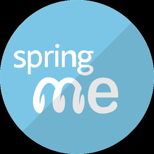 me, spiral, spring, spring me, springme icon