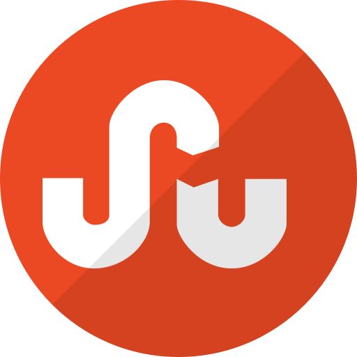 communication, media, network, social, stumbleupon icon