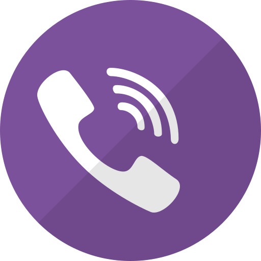 call, chat, mobile, phone, talk, telephone, viber icon