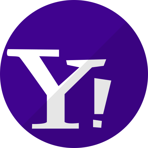 chat, mail, media, messenger, network, social, yahoo icon