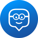 circle, edmodo, education, gradient, media, social, social media icon