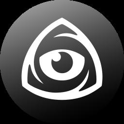 circle, eye, icon market, iconfinder, iconfinder icon, iconfinder logo, internet icon