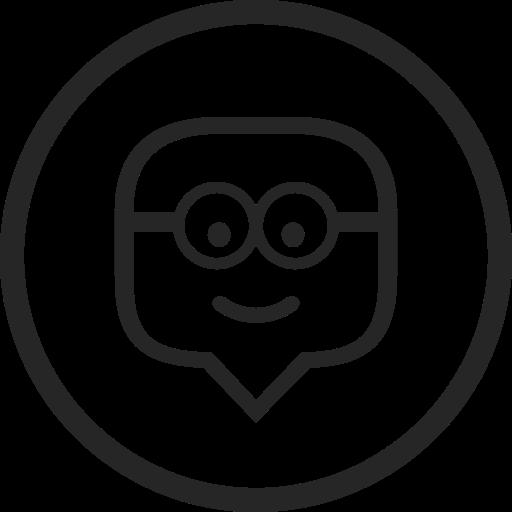 circle, edmodo, education, high quality, media, social, social media icon