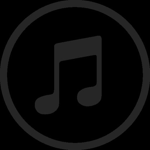 circle, high quality, itunes, media, music, social, social media icon