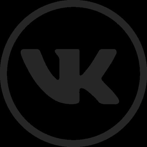 circle, high quality, media, social, social media, video, vk icon