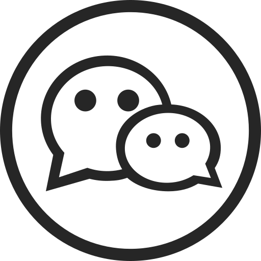 circle, high quality, media, message, social, social media, wechat icon
