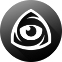 eye, icon market, iconfinder, iconfinder icon, iconfinder logo, internet, long shadow icon