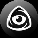 eye, icon market, iconfinder, iconfinder icon, iconfinder logo, internet, long shadow icon
