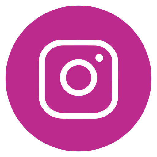 Circle, instagram, outline, social-media icon - Free download