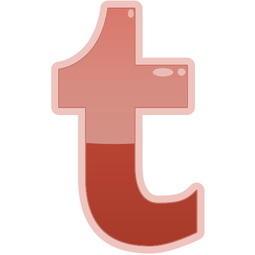 media, social, t, tumblr icon