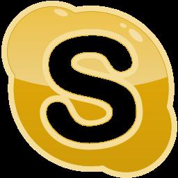media, s, skype, social icon