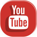 media, movie, player, social, video, youtube icon
