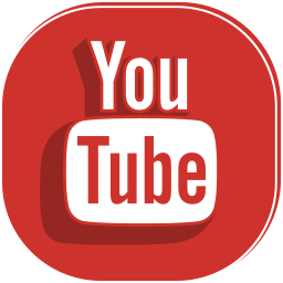 media, movie, player, social, video, youtube icon