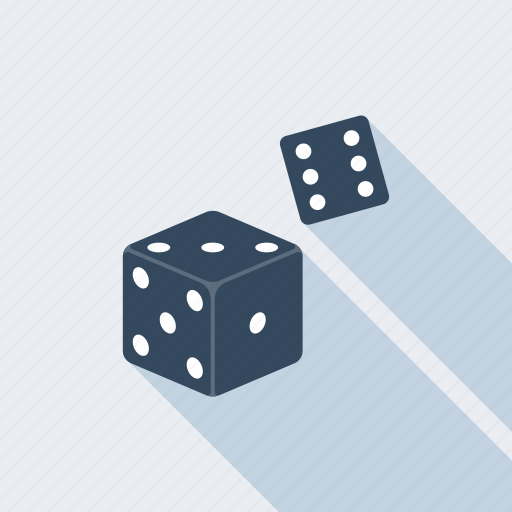 bet, casino, dice, gambling, game, leisure, win icon