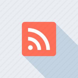 blog, communication, feed, media, news, rss, social icon