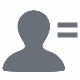 account, pika, profile, simple, social media, social network icon