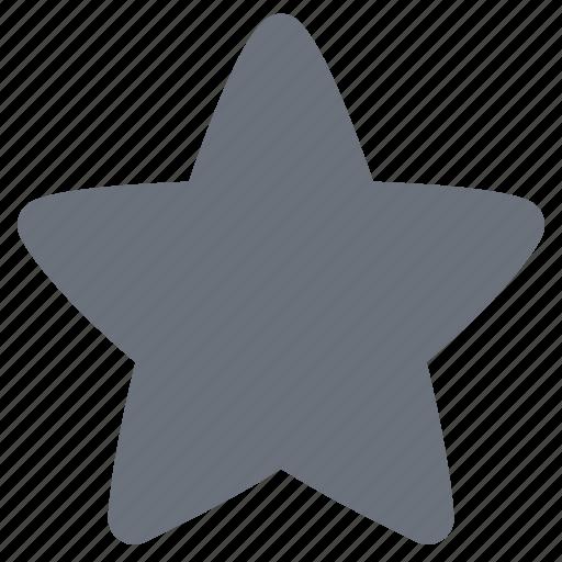 favorite, pika, simple, social media, social network, star icon