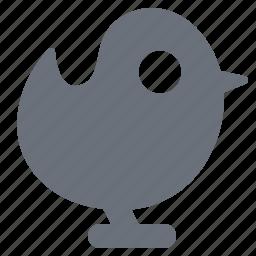 pika, simple, social media, social network, tweet, twitter, twitter bird icon