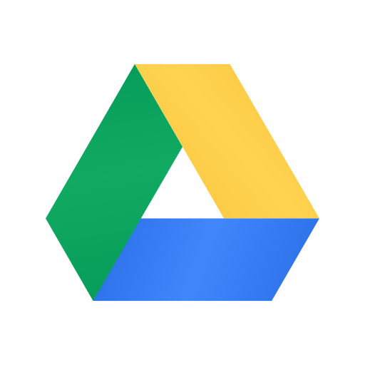 application, data, drive, file, google, internet, storage icon