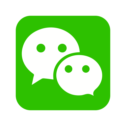 call, contact, group, media, message, social, wechat icon