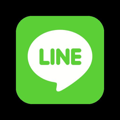 call, contact, line, logo, media, message, social icon