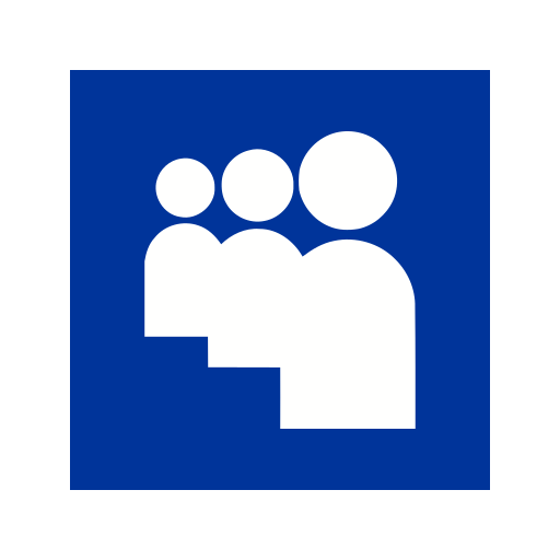 connect, group, myspace, network, online, social, team icon