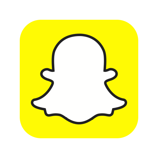 application, chat, logo, photo, snap, snapchat icon