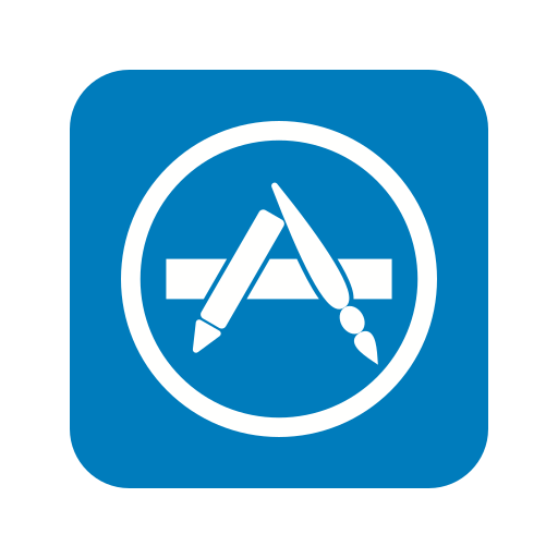 apple, application, apps, appstore, company, mobile, technology icon