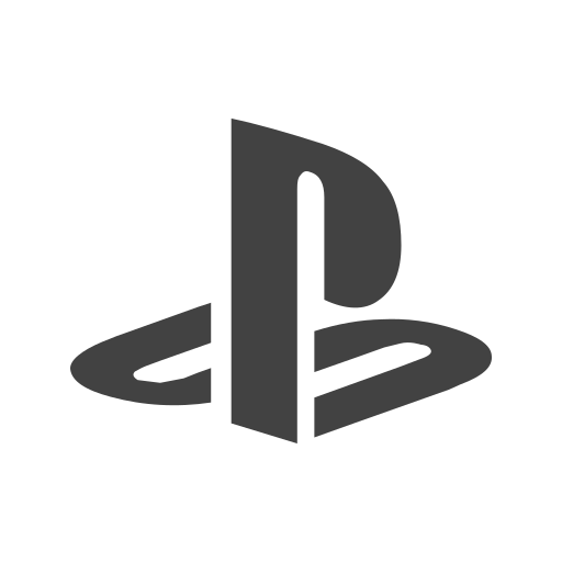 Playstation, gaming, game, computer, online, friends, software icon