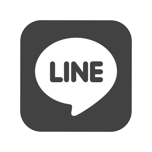 Call, contact, line, logo, media, message, social icon - Free download