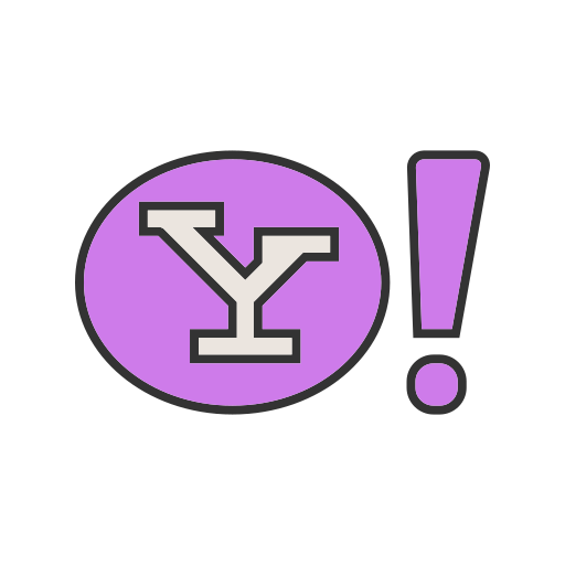 engine, home, internet, page, search, website, yahoo icon