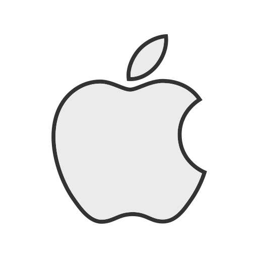apple, company, ios, ipad, iphone, logo, technology icon