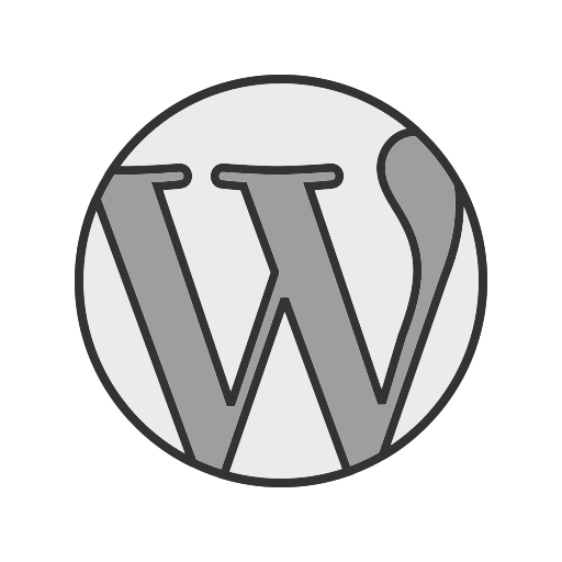 blog, homepage, internet, page, web, website, wordpress icon