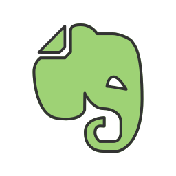 app, application, evernote, iphone, mobile, smartphone, technology icon