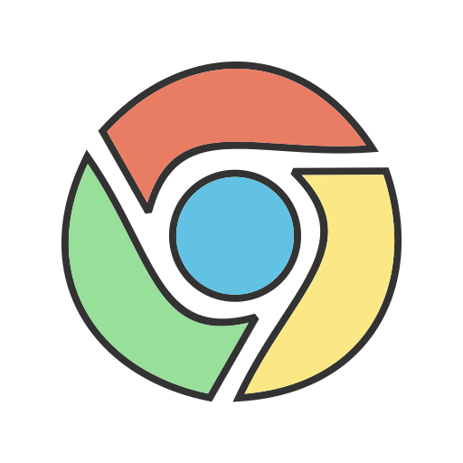 browser, chrome, google, internet, online, search, website icon