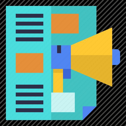content, marketing, media, social, story, storytelling icon