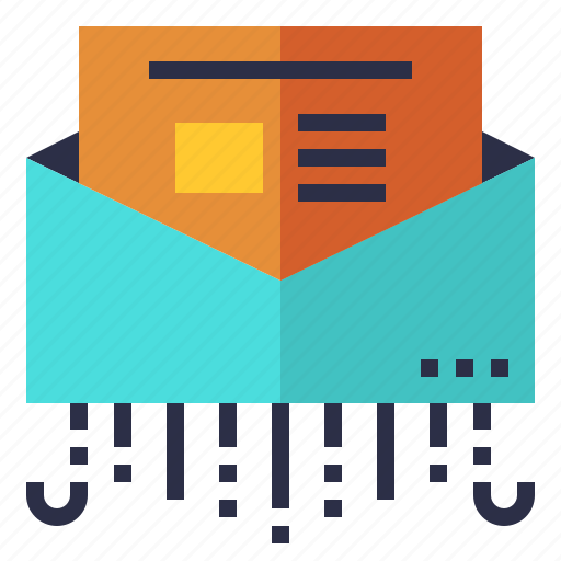 information, mail, news, newsletter, sending icon